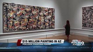 Lost Jackson Pollock painting: $15 million painting to be auctioned in Scottsdale - Video