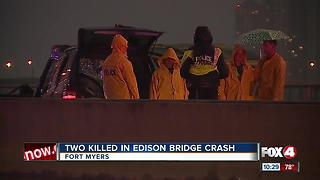 Two people killed in wrong-way crash ID'd - Video