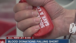 Indiana Blood Center needs donations - Video