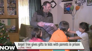 Angel Tree provides gifts to children who have parents in prison - Video