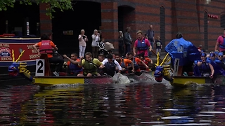 Dragon Boat Race Birmingham 2017 - Video
