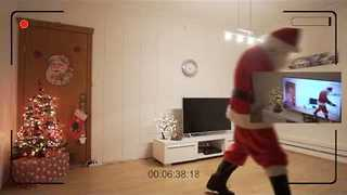 Little Girl Gets Proof That Santa Visited - Video
