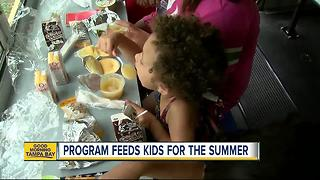Summer feeding program works to keep thousands full - Video