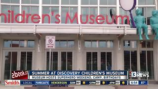 Discovery Children's Museum hosts summer activities - Video