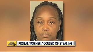 Florida mail carrier accused of stealing cash, gift cards from the mail - Video
