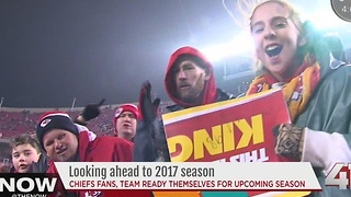 Chiefs coach, fans prepare for 2017 season - Video