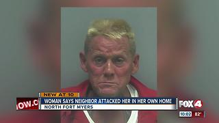 Man arrested for assaulting his neighbor - Video