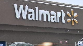 Rooftop fire at Walmart in Grand Chute during snow storm - Video
