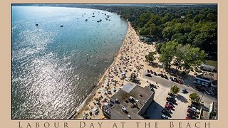 Aerial Footage Lets You Experience the Summer Fun in Port Dover, Ontario - Video