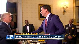 Ex-FBI Director James Comey testifies before Senate Intelligence Committee