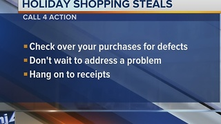 Call 4 Action: Keep checking the deal on a holiday shopping steal
