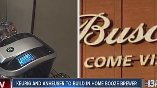 Keurig teams up with Anheuser-Busch to create in-home booze machine - Video
