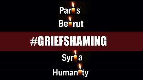 Paris, Beirut: Stop the grief shaming