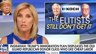 Laura Ingraham blasts 'globalist' Koch brothers for trashing Trump - Video