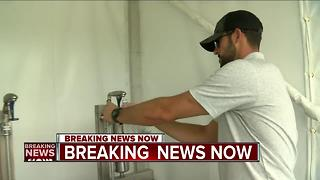 E. coli found at Erin Hills hydration station - Video
