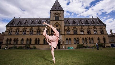 Quantum leap – Ballet dancer straddles performing and physics PhD