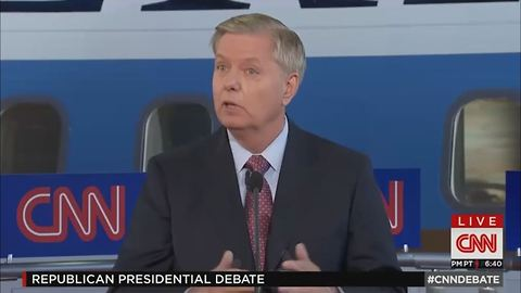 The Lindsey Graham Comedy Hour: GOP Debate 2016