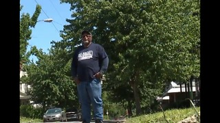 Cleveland man fed up with terrible streets takes matter into his own hands - Video