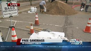 TDOT offering free self serve sand bags to prevent flood damage - Video