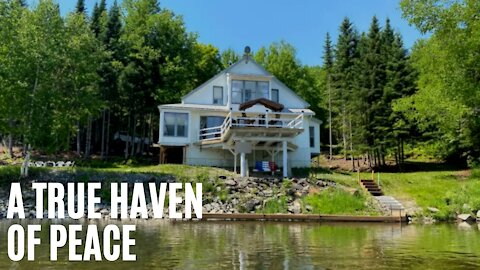 New Brunswick House For Sale Is A Natural Paradise & It Costs Less Than $170K