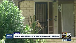 Man accused of shooting, killing girlfriend in Mesa - Video