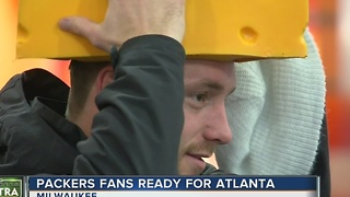 Packers fans get ready to travel to Atlanta - Video