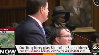 Governor Ducey gives State of the State address - Video