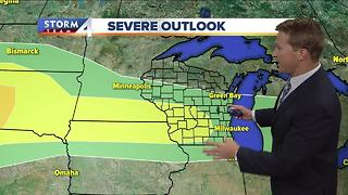 Brian Niznansky's Monday morning Storm Team 4cast - Video