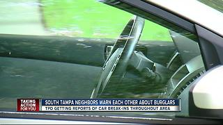 Suspicious people caught trying car door handles - Video