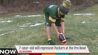 Elkhorn girl qualifies for NFL Pro Bowl competition - Video
