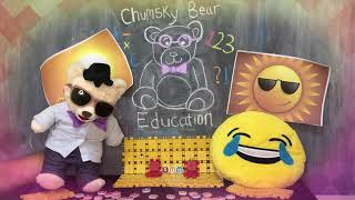 Learn about the Sun with Chumsky Bear | Solar System | Science | Educational Videos for Kids