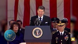 Rare Goes Yellow: President Reagan's 1985 Veterans Day speech | Rare Politics - Video