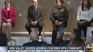Valley leaders meet with community to address concerns - Video