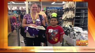 Salvation Army's Back to School Child Spree - Video