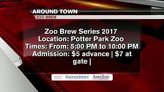 Around Town 6/27/17: Zoo Brew at Potter Park Zoo - Video