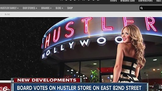 Board votes against Hustler store near Chuck E Cheese - Video