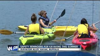 Making sure your life jacket is kayak ready! - Video