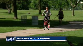 Today is the first full summer day - Video