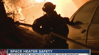 House fires increase when temperatures drop according to Sapulpa Fire Department - Video