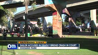 Navy man in court for deadly crash in Chicano Park - Video