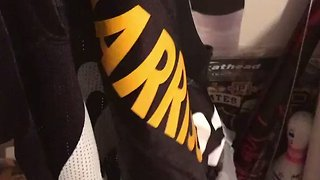 Steelers Fan Throws James Harrison Jersey in Trash After He Signs With Patriots - Video