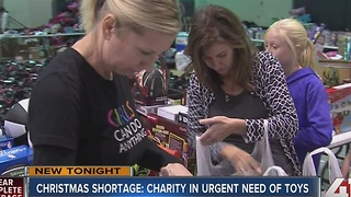 Della Lamb still needs 800 more toy donations - Video