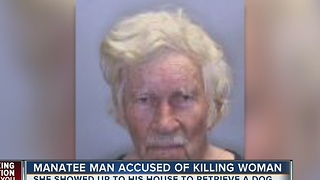 Manatee County man accused of killing woman over door knock