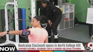 Bootcamp Cincinnati: Local mom parlays her journey into a career helping others transform - Video
