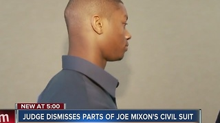 Two parts of lawsuit against Joe Mixon dismissed - Video
