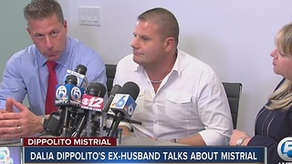 Dalia Dippolito's ex-husband talks about mistrial - Video