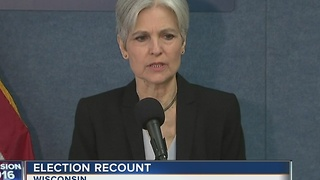 Stein to ask Madison judge to order hand recount - Video