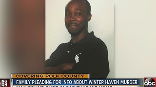 Police search for suspect in Winter Haven homicide, reward offered - Video