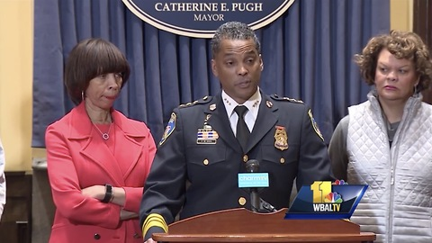 Baltimore Mayor Fires Police Commissioner Because of Uptick In Crime