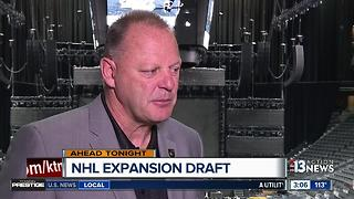 Gerard Gallant talks about NHL Expansion Draft - Video